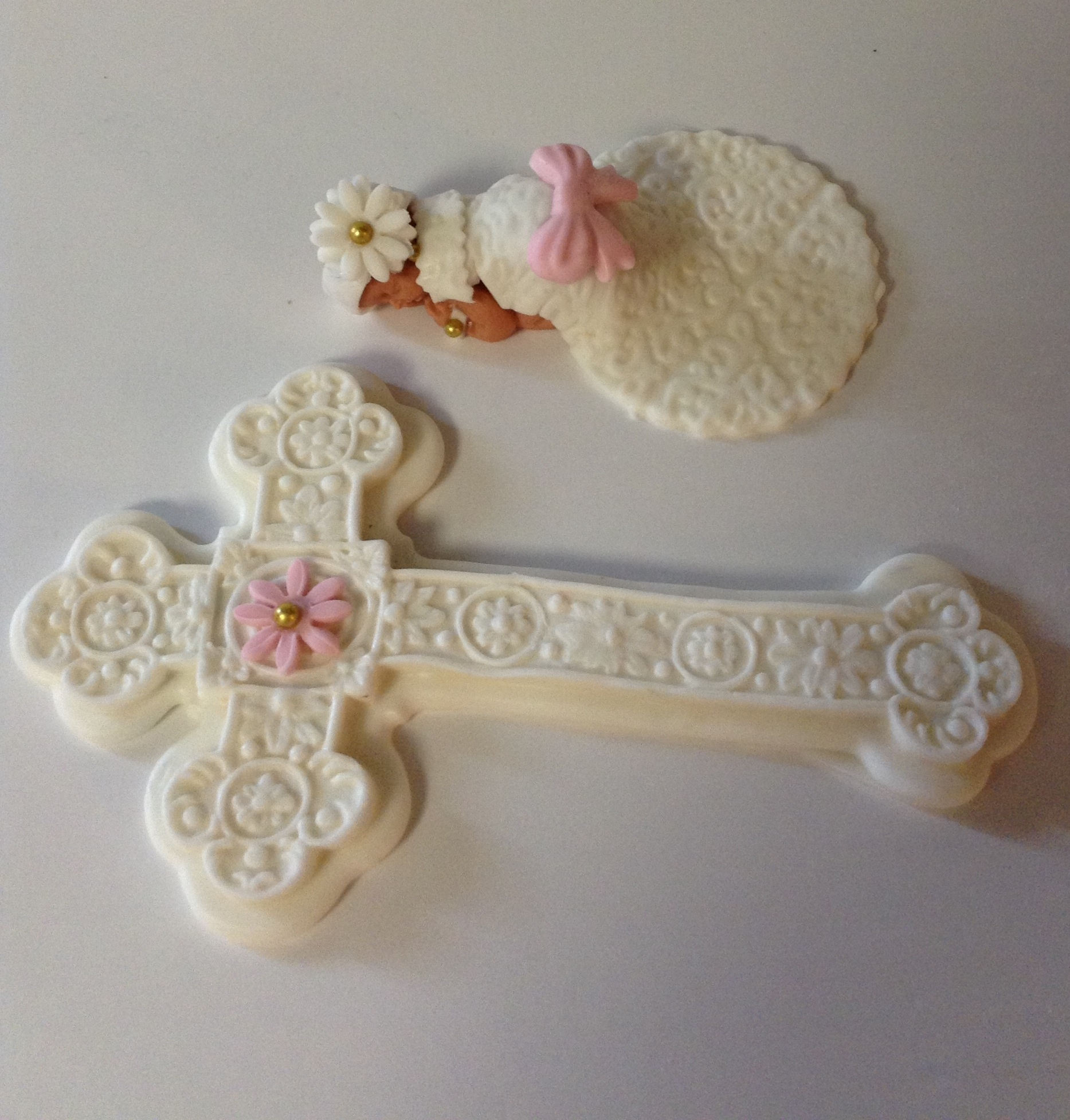 Christening Cake Topper on Luulla